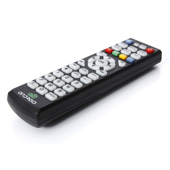 18D HD Player TV Remote Control Black