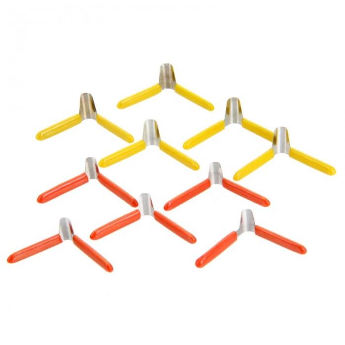 10pcs KLOM Aluminum Plastic Plane-shaped Clamp Lock Pick Tool Set