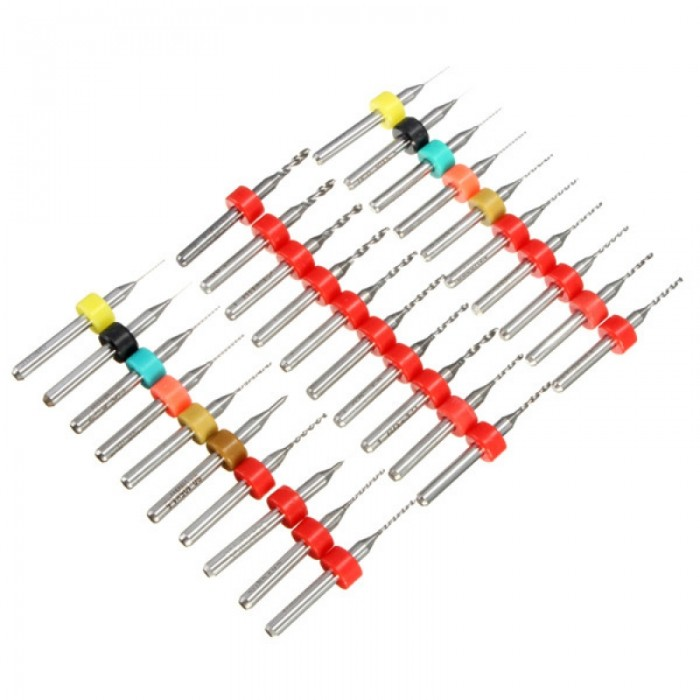 10pcs 0.3-1.2mm Tungsten Steel PCB Print Circuit Board Drill Bit