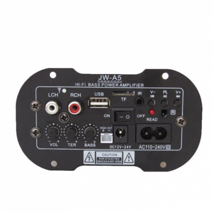 30W Car Subwoofer Bluetooth MP3 Audio Hi-Fi Bass Amplifier Board