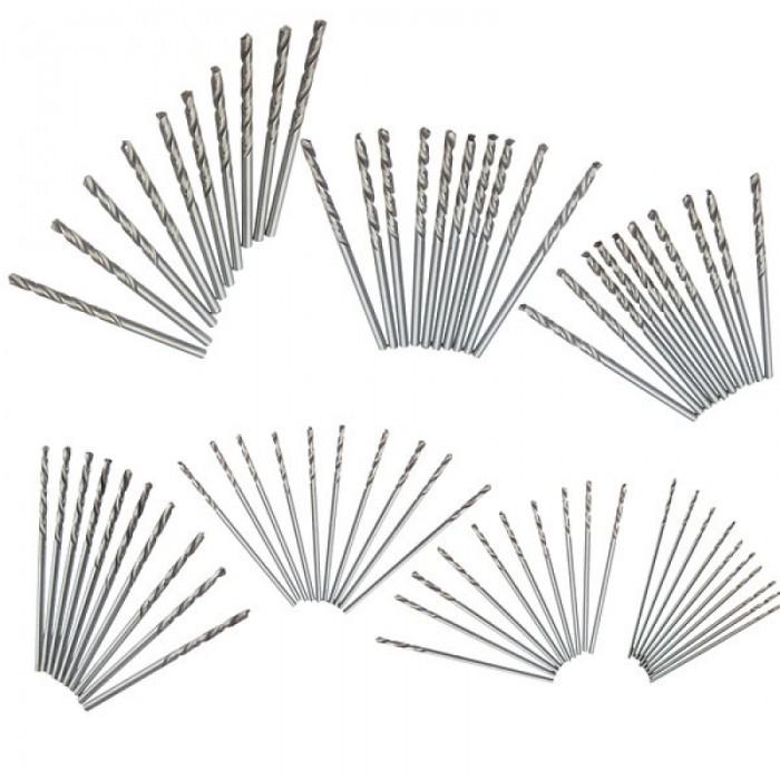 10pcs 2.3mm Micro Straight Shank HSS Twist Drilling Bit