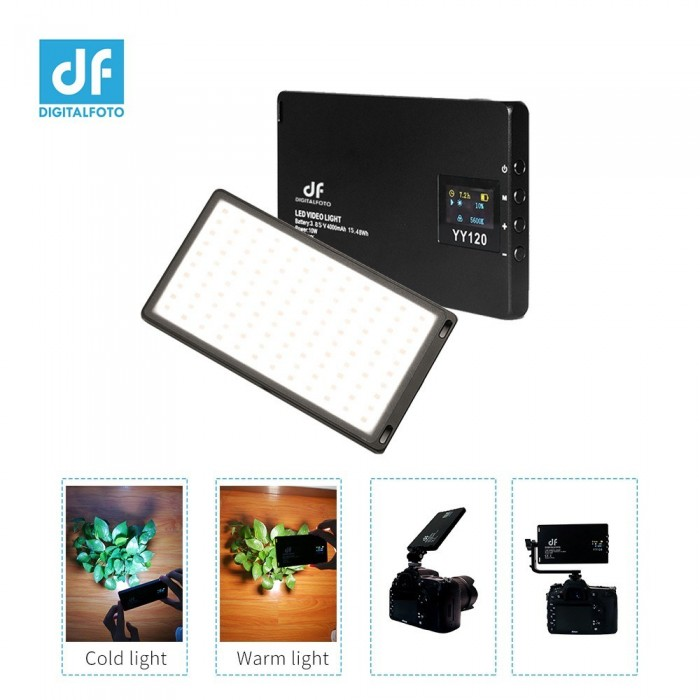 DF DIGITALFOTO YY120 10W Bi-Color LED Video Light